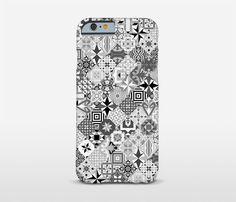 Mosaic Phone Case Ceramic Tiles Art iPhone 7 Cases by Macrografiks