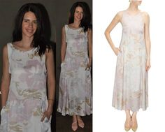 GET THIS LOOK: Kalki Koechlin looks radiant in a White signature print box dress by SHIFT.   Shop now: http://www.perniaspopupshop.com/designers/shift-by-nimish-shah
