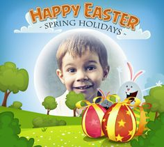 Explore our new Easter templates and have a lot of fun with PhotoMontager.