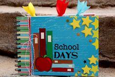 School Days Mini Album - Scrapbook.com