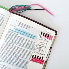 Bible journaling.  L