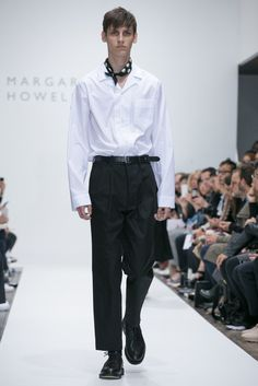 A look from the Margaret Howell Spring 2016 Menswear collection.