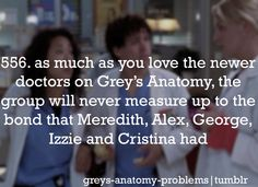 Yes!! I miss o'malley & Izzie