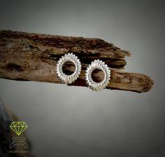 Stigma Earrings,Sterling silver Earrings de Dcastjoyas en Etsy