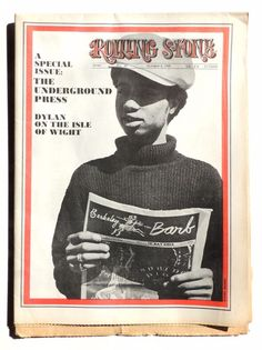 """Founded in California, by Jann Wenner back in 1967 Rolling Stone magazine delved deep into the music world and frequently tackled political issues. In the first edition 11/9/1967 Wenner wrote that Rolling Stone """"is not just about music, but about things & attitudes that the music scene embraces.   eBay!"""