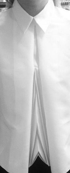 Georgia Hardinge white shirt