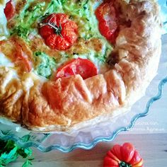 In Cucina con Mamma Agnese: Salato di Zucchine Formaggio e Pomodoro
