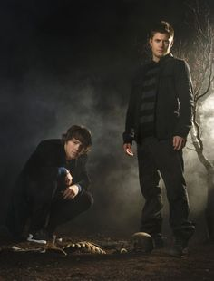 Jared  Padalecki  as  Sam  Winchester  and  Jensen  Ackles  as  Dean  Winchester  on  Supernatural  ♡
