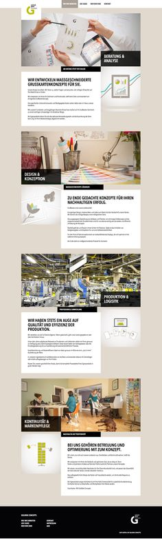 GOLDBEK CONCEPTS  Corporate Website Corporate Website, Concept, Design, Mathematical Analysis, Cards, Design Comics