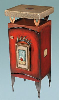 """The Sun Will Shine Tomorrow"" - Whimsical Cabinet by Avner Zabari"