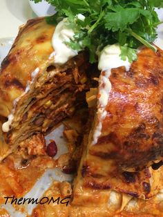 Mexican Chicken Stack - ThermOMG