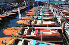 Lake Tahoe Concours d'Elegance celebrated its 40th year by featuring the elegant and glamorous Italian Riva Aquarama.