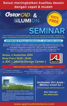 GstarCAD & Lumion Seminar | AppliCAD Indonesia.