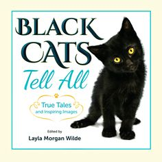 Our amazing nonprofit book Click and enjoy. Black Cats Tell All is available by pre-order at a discount until Oct.24 at Barnes & Noble @catwisdom101