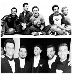 the top pic is another favorite of mine and I love how they have the same expression in their current pic as the first :) It's like nothing had changed in the past 13yrs :)