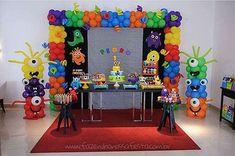 Festa Infantil Monstrinhos do Pedro Decoração