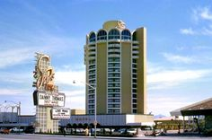 On this date the Sands Hotel & Casino Closed, June 30, 1996. The Historic hotel was the seventh hotel to open on the famous Las Vegas Strip on December 15, 1952. The Sands was was owned by Howard Hughes in the mid 1960′s.