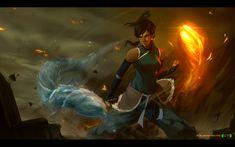 Avatar Korra by dCTb on DeviantArt