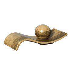 Enfeite de Mesa em Cerâmica. Lindo e moderno, este kit é perfeito para deixar seu ambiente ainda mais refinado.