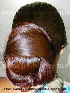 What a beautiful large low bun! Care however should be taken before adopting… Thick Hair Bob Haircut, Bun Hairstyles For Long Hair, Braids For Long Hair, Messy Hair, Beautiful Long Hair, Gorgeous Hair, Beautiful Braids, Amazing Hair, Super Long Hair