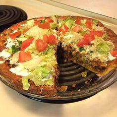 Quick Crescent Taco Pie Allrecipes.com