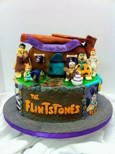 Flintstones Cakes On Pinterest Fred Flintstone Cakes