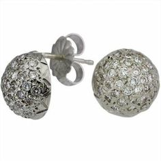 Platinum Pave Set Diamond Dome Earrings Da'Carli. $1600.00. This Pair of Earrings is crafted in solid platinum with a total combined weight of 2.71 grams.. This Pair of Earrings is set with 70 GH-SI diamonds with a total combined weight of 0.75 ct. (All diamonds 0.75 ct and up with a color range of D-I are GIA Certified). Call 1(888) 527-9422 for Yelow Gold, or 18k. When calling, please, provide the model number: 6800ALT03. Free Standard Shipping with this item!. Fr...