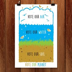 Vote Our Planet by Shane Henderson for Vote Our Planet by Creative Action Network - 1