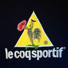 James Merry embroidery - Le Coq Sportif / Cactus