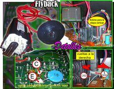 Soluciones a los detalles de adaptación de Flyback Electronics Mini Projects, Crt Tv, Plasma, Data Sheets, Led, Recording Studio, Television Set, Report Cards, Display