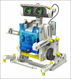 Ausgefallene Geschenke und Geschenkideen für kleine und große Wissensschaftler | 14 in 1. Roll-E der Solar-Roboter. Neu! | Erlesenes Wissen ...