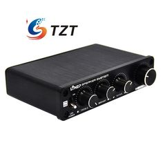 Four-In Four-Out Sound Effector Independent 4 Channel Controller Preamplifier for Car Vehicle A927