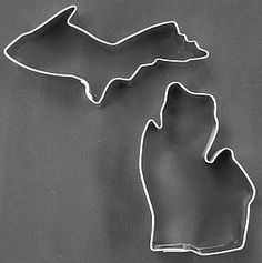 Michigan Cookie Cutter for #holiday cookies or anytime #cookies and pancakes too!