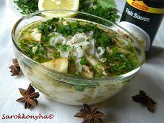 Sarokkonyha: Pho Ga, a vietnámi leves Fish Sauce, Pho, Potato Salad, Vietnam, Chili, Lime, Potatoes, Ethnic Recipes, Cilantro