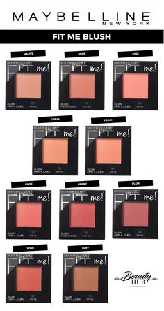 Maybelline Fit Me Blush - Blush Makeup, Drugstore Makeup, Makeup Brands, Love Makeup, Skin Makeup, Makeup Cosmetics, Best Makeup Products, Drugstore Blush, Beauty Products