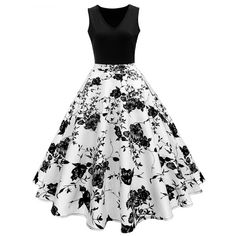 Cheap Dresses, Buy Directly from China Suppliers:liva girl Color Floral Print High Waist Vintage Dress Women 2017 Summer vestidos female Robe Female Retro Vintage Dresses Vestidos Vintage Retro, Retro Vintage Dresses, Retro Dress, Vintage Floral, 50s Vintage, Wedding Vintage, Vintage Style, Day Dresses, Cute Dresses