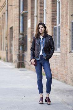 die 126 besten bilder von jeans kombinieren outfit. Black Bedroom Furniture Sets. Home Design Ideas