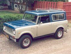 1969 International Scout 800A Aristocrat