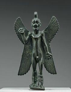 Statuette of the demon Pazuzu, Mesopotamia, eighth-seventh century BC