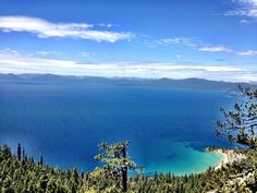 Tahoe Rim/Flume Trail, Incline Village, Nevada