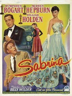 """""""Sabrina"""" movie poster (1954)"""