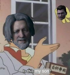 Detroit become human Hank and Connor:D