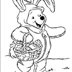 Free Coloring Pages ~ Printable Easter Coloring Pages