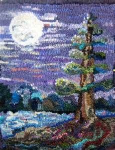 hooked rug images, TREES - - Yahoo Image Search Results