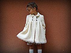 c'est dimanche girl's #coat #sewing #pattern — patron VOLGA