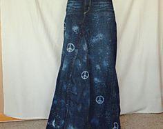 Custom Listing for Gypsy Distressed Long Jean by DenimDiva2day
