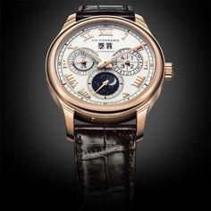 Chopard L.U.C. Lunar One Watch #Chopard #Moon #Luxury #Astronomy