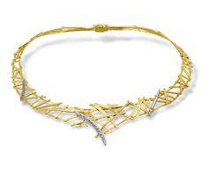 Necklace Gold 18-karat  Parthenon Greek Jewelry
