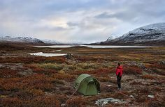 """Kungsleden - literally the """"King of Trails"""" - in northern Sweden."""