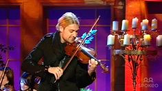 Violinist David Garrett is performing 'Csardas-Gypsy Dance' on 'The Alan Titchmarsh Show'. As seen on ITV1.
